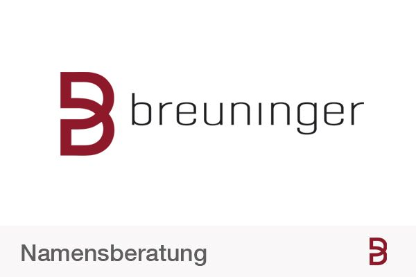 Naming for Breuninger.